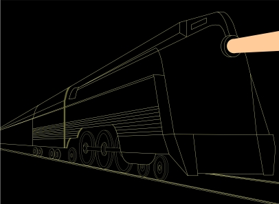 1American Cultural Icons- Night Train to Chicago headed by a Hudson Streamliner