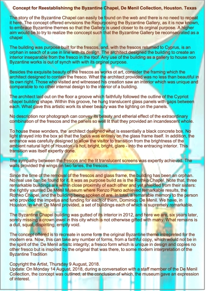 A3 Byzatine Chapel image and text